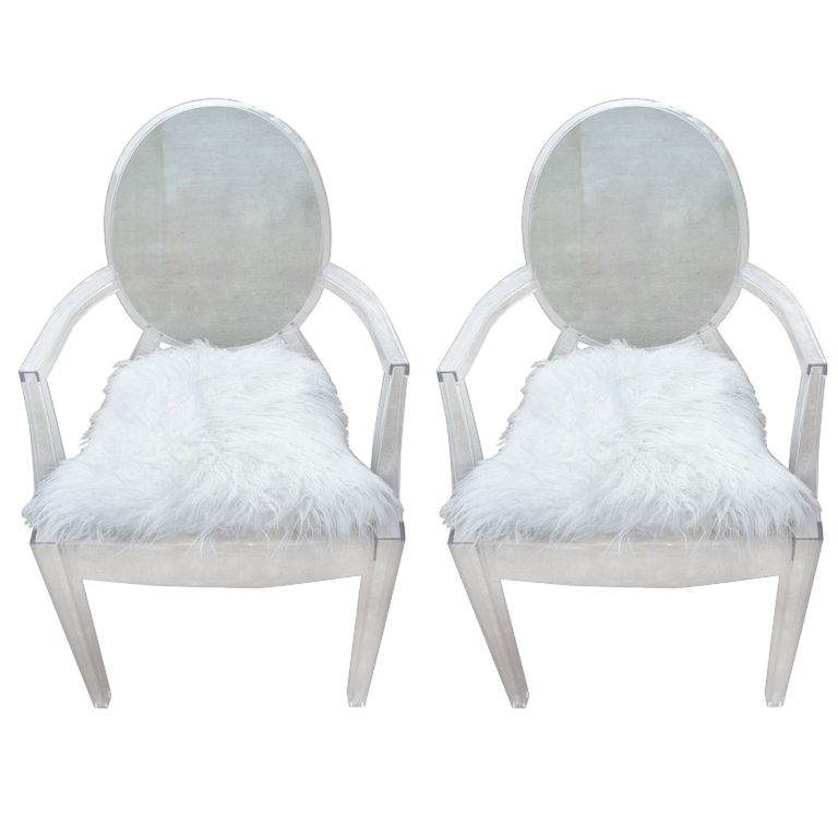 1stdibs Pair Philippe Starck Louis Ghost Chairs Explore Items From 1 700 Global Dealers At