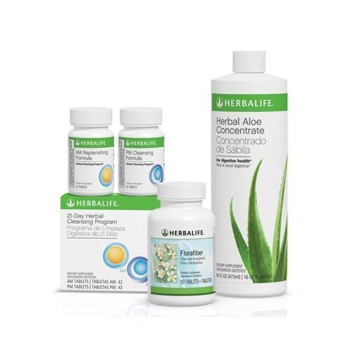 Herbalife Digestive Health Program With Aloe Vera With Organic