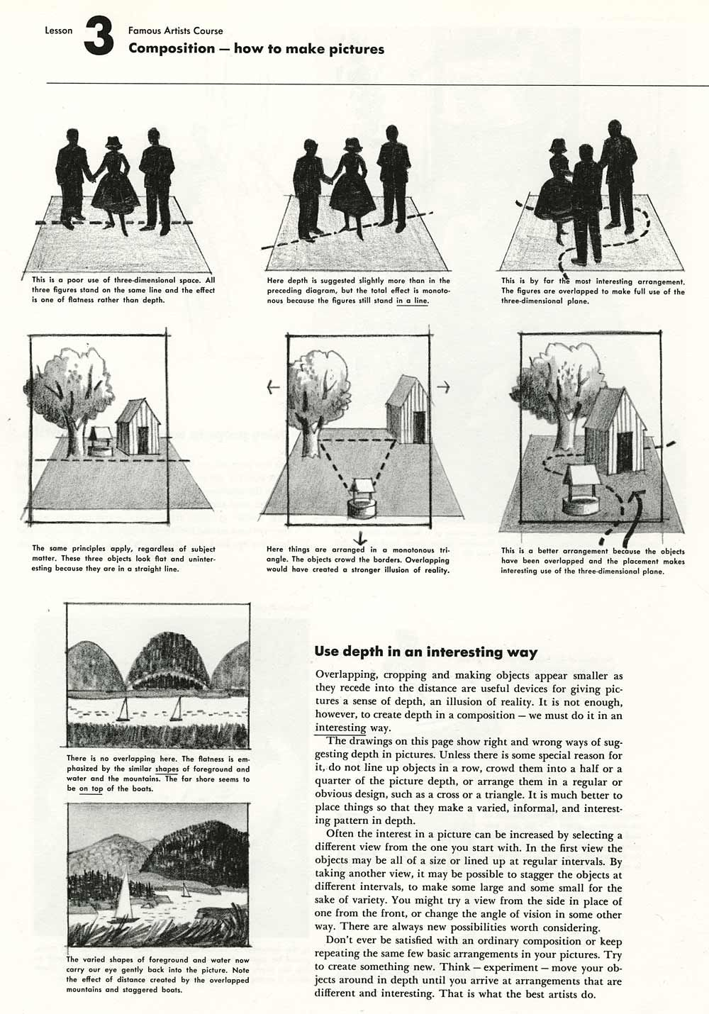 Photo of Instruction: Composition- How To Make Pictures – AnimationResources.org – Serving the Online Animation Community