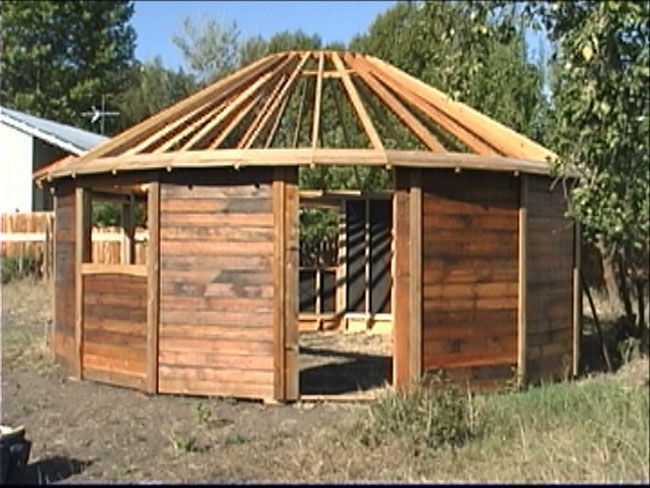 Wooden Yurt Bargain Tiny House Blog Living Simply In
