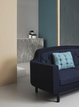 Normann Copenhagen Onkel Sofa Dunkelblau Couch Blau Navy Midnight Wohnzimmer Mobel Einrichtung Wohn Mobeldesign Zeitgenossische Mobel Innenarchitektur