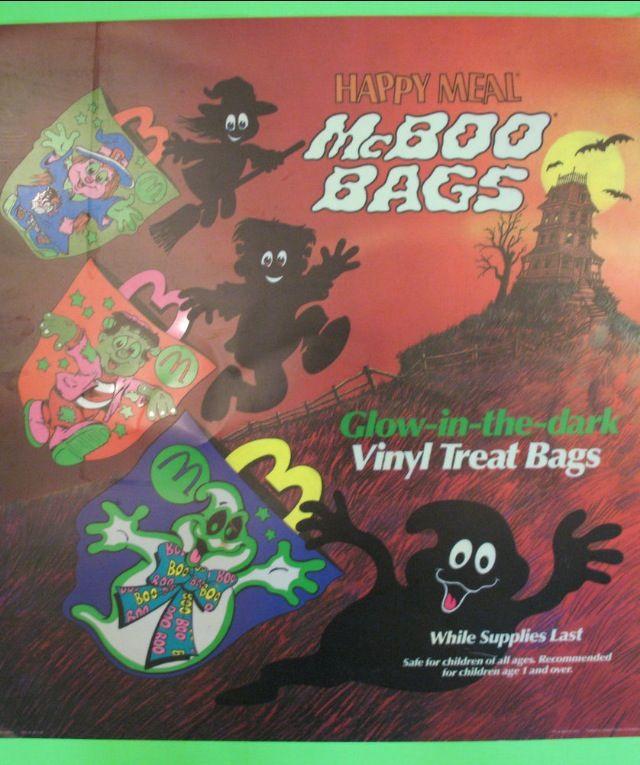 Mcboo Bags Mcdonalds Halloween 80s 90s Misc Halloween