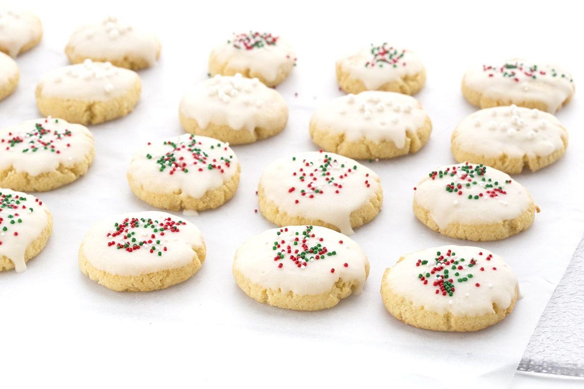 Low Carb Grain-Free Italian Christmas Cookies | Trim Healthy Mama ...