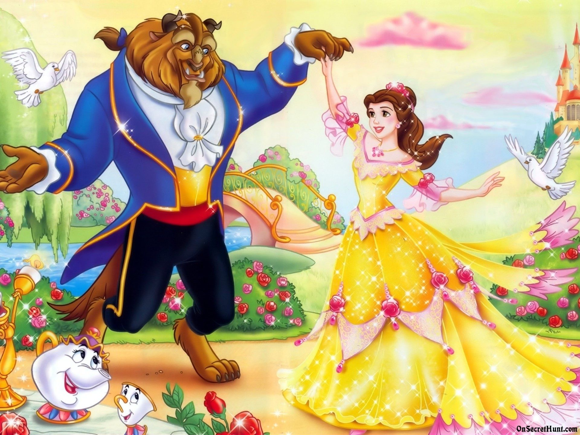 Beauty And The Beast X With Images Disney Beauty And The