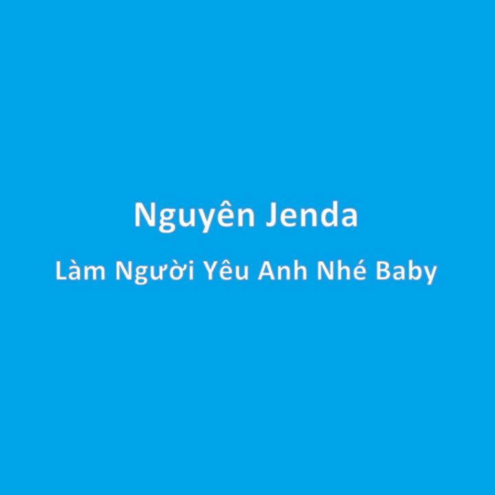 Sheet Music Làm Người Yêu Anh Nhé Baby