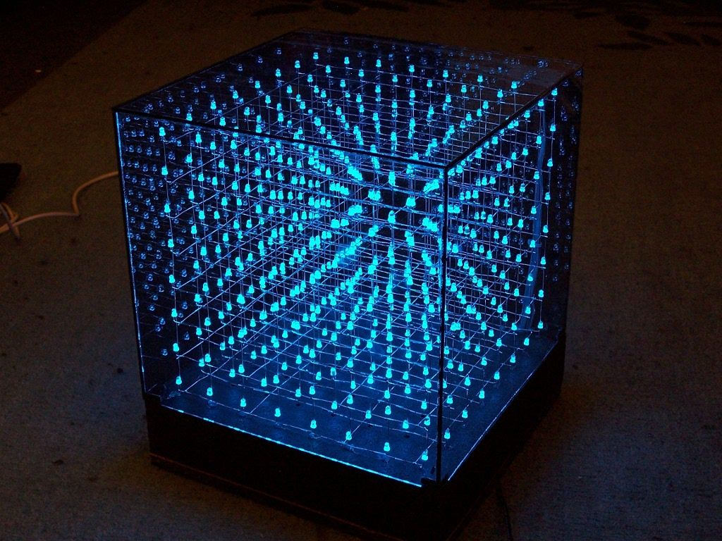 Heres Another Cup Of Tech Goodies From Kickstarter A 3d Led Cube Chasing Circuit Diagram Using At89c2051 That Lets You Create And Share Stunning Visualizations In