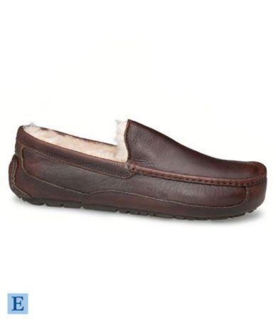 7b1a8016fae UGG Australia Men´s Ascot Leather Slippers