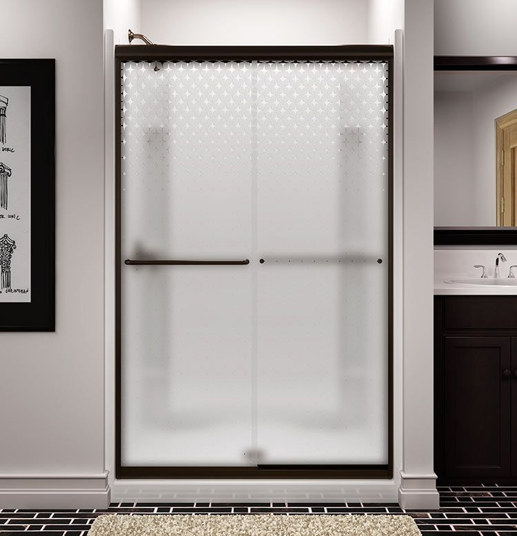 Sterling Starscape A Fun Retro Shower Door For A Midcentury