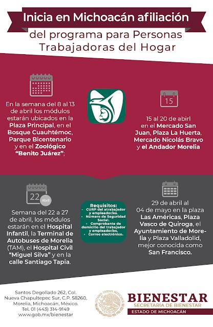 Morelia Michoacán La Secretaría Del Trabajo Y Previsión