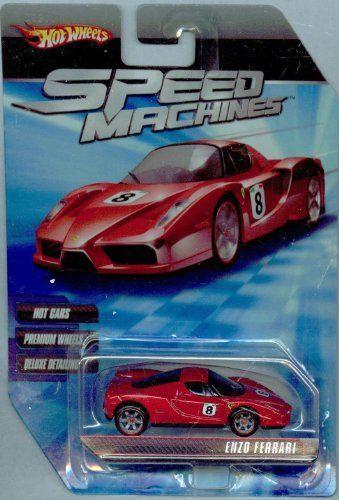 Hot Wheels Speed Machines Enzo Ferrari Red 1 64 Scale By Mattel