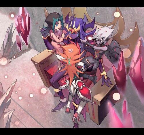Yu-Gi-Oh! Zexal ll This is sooooo cute!!!!!!   Anime images, Anime, Yugioh