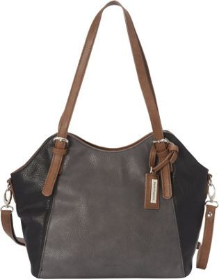 Hush Puppies Convertible Shoulder Bag Greytaupeblack Via Ebags