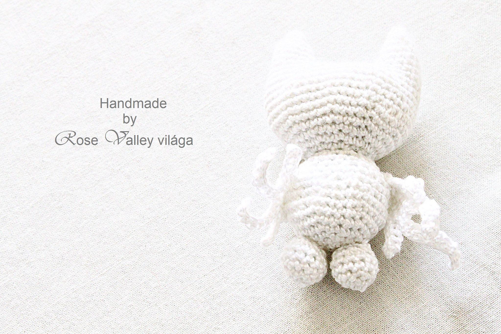 crochet semi-finished white owl body e851650ea1