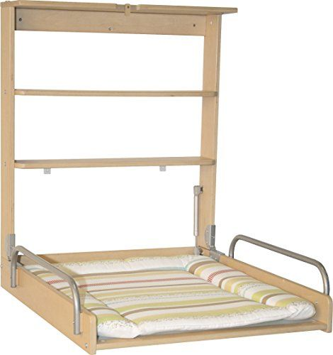 Wall Diaper Changer Baby with Folding Mattress Color Haya Roba Practical Germany