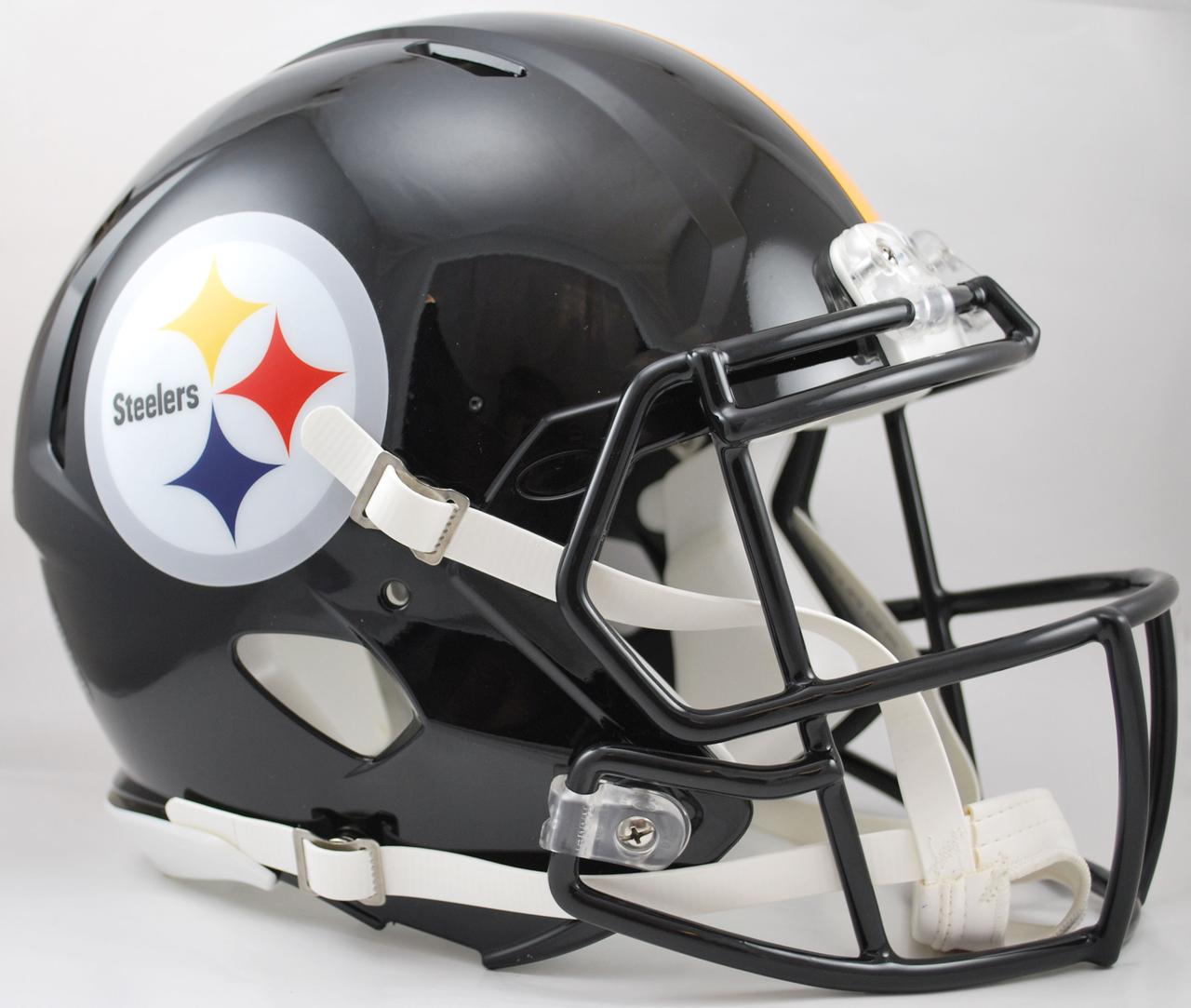 Pittsburgh Steelers Speed Football Helmet Football Helmets Pittsburgh Steelers Helmet Pittsburgh Steelers