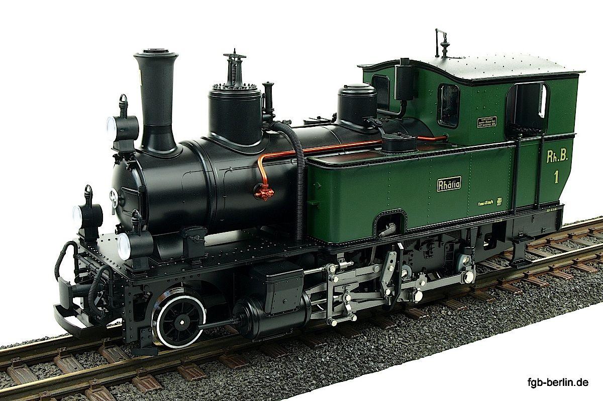 RhB Dampflokomotive (Steam locomotive) G 3/4 1 Rhätia