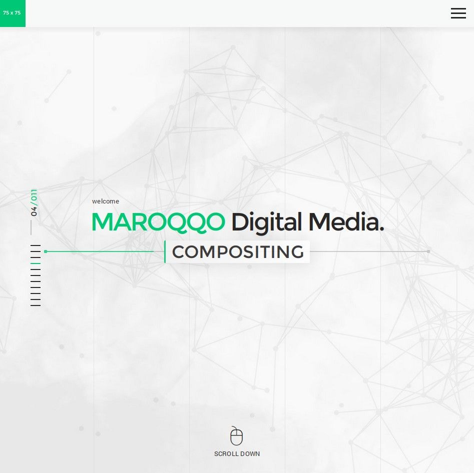 #website, #graphic artwork for the digital media production MAROQQO| made by @maroqqo