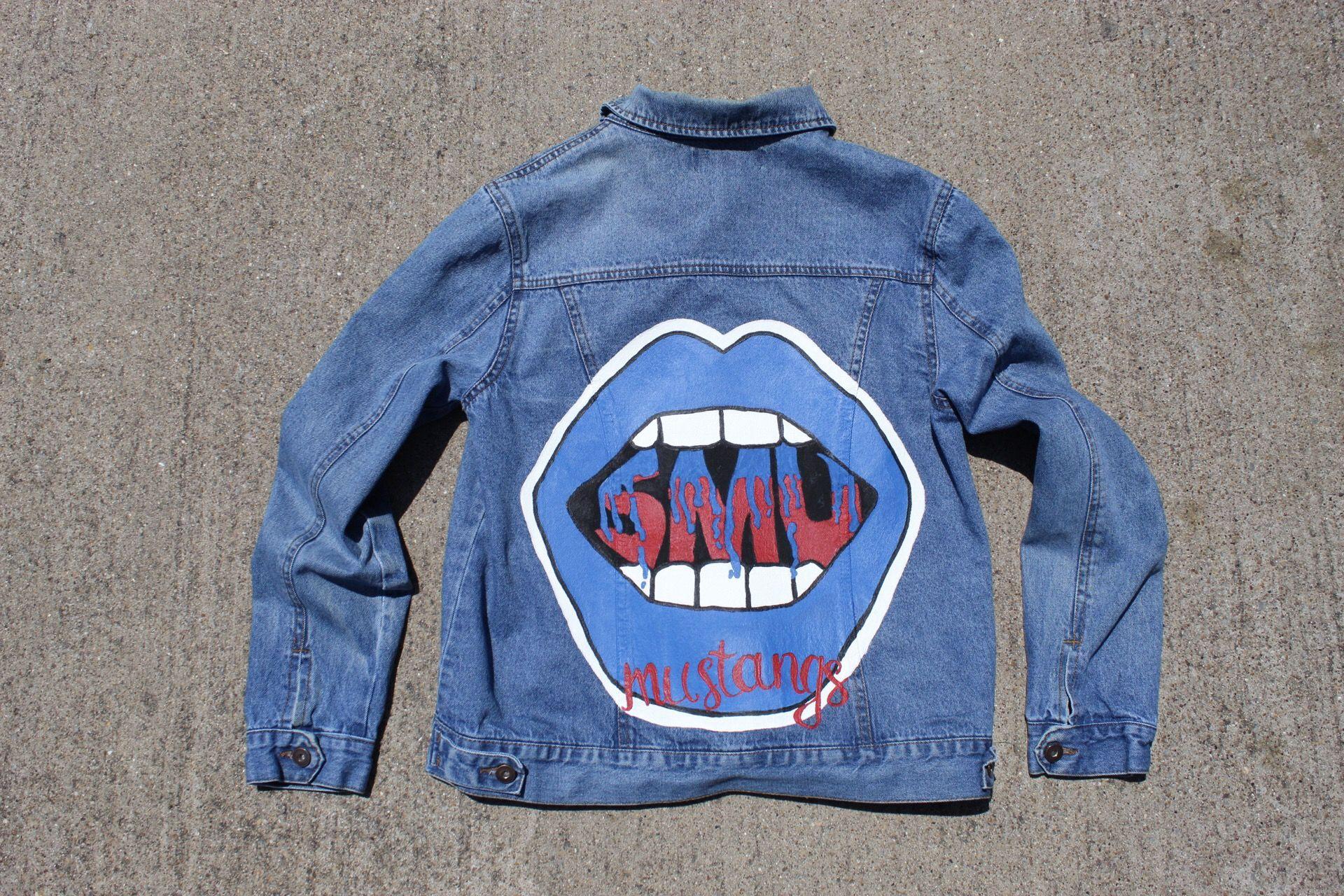 Custom Painted College Denim Jacket Jacket Not Included Etsy Diy Denim Jacket Jackets Denim Jacket [ 1280 x 1920 Pixel ]