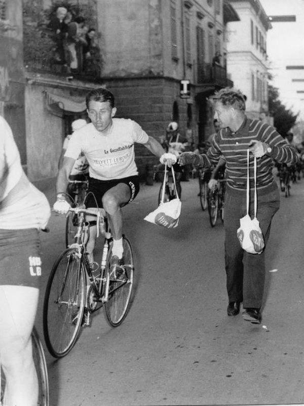 Jacques Anquetil Bicicletta Bicycle Race Bike Tour De France