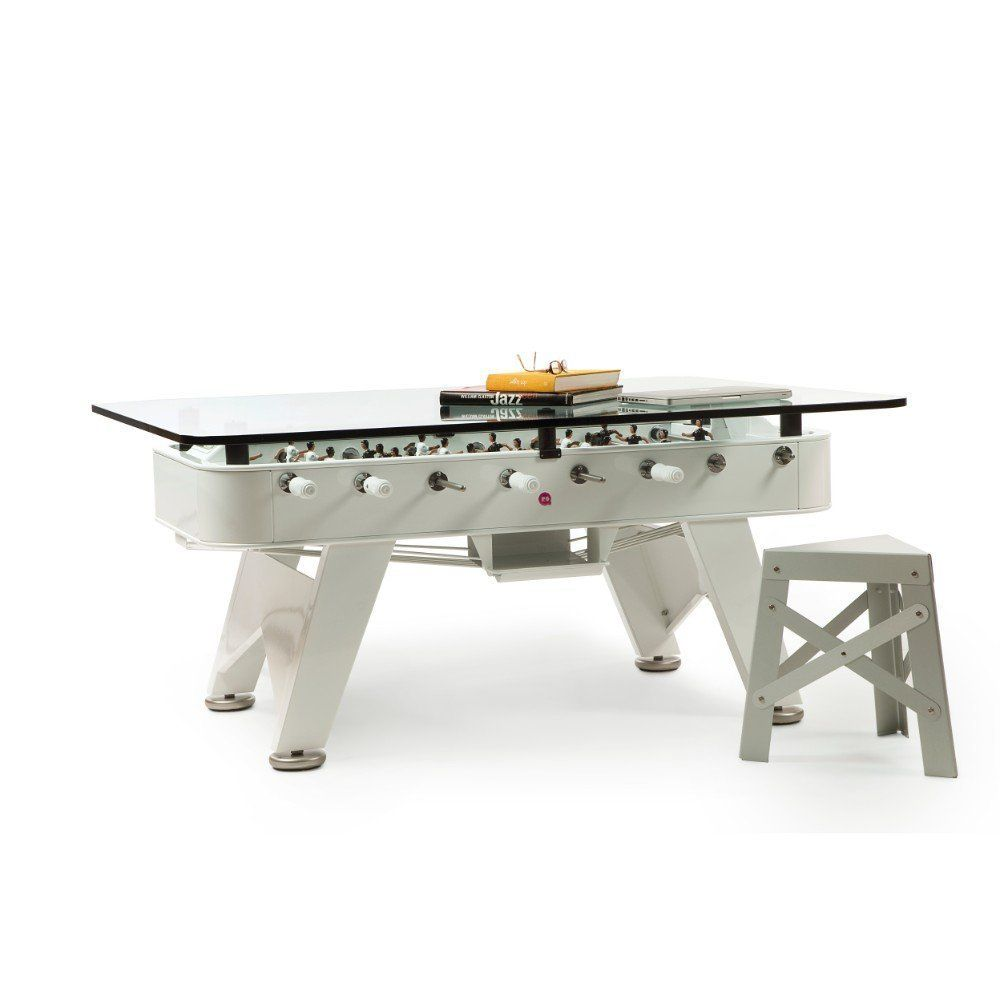 Rs2 Foosball Table With Glass Dining Top Competition Sized