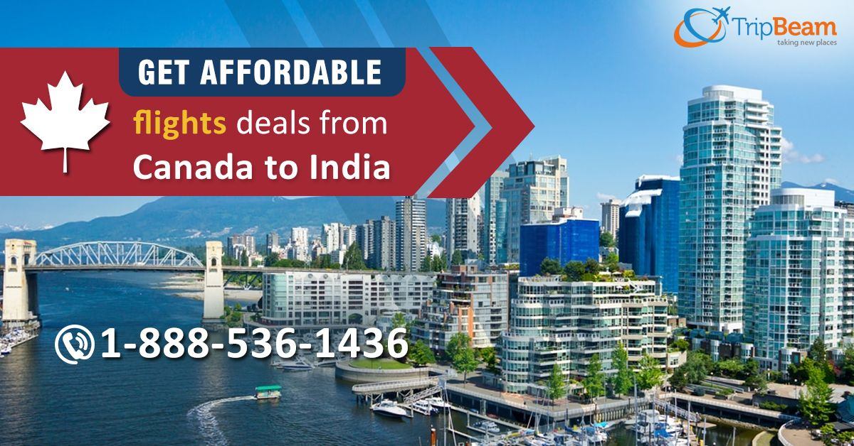 Planning for a #journey to #India? Make your #vacation in your #budget, book your #airtickets with Trip Beam. We offer excellent deals on flights from Canada to India. Book Now!  Contact us at: 1-888-536-1436 (Toll-Free), info@tripbeam.ca  #TripBeam #FlightstoIndia #CanadaToIndia #FLIGHTBOOKING #AIRLINETICKET #FLIGHTS #TRAVEL #cheapest #airfares #Deals #FLIGHT #offers #plan #trip #Canada #tourism #tourandtravel