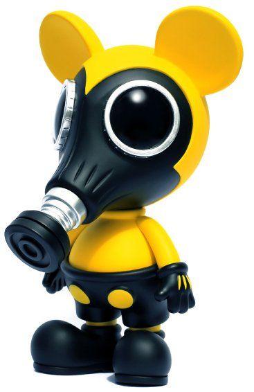 "10"" Mousemask Murphy (Biohazard) by Ron English"