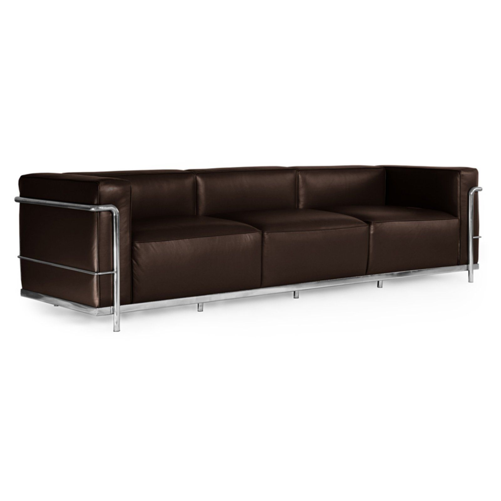 Wondrous Kardiel Roche Premium Aniline Leather Loveseat Choco Brown Caraccident5 Cool Chair Designs And Ideas Caraccident5Info