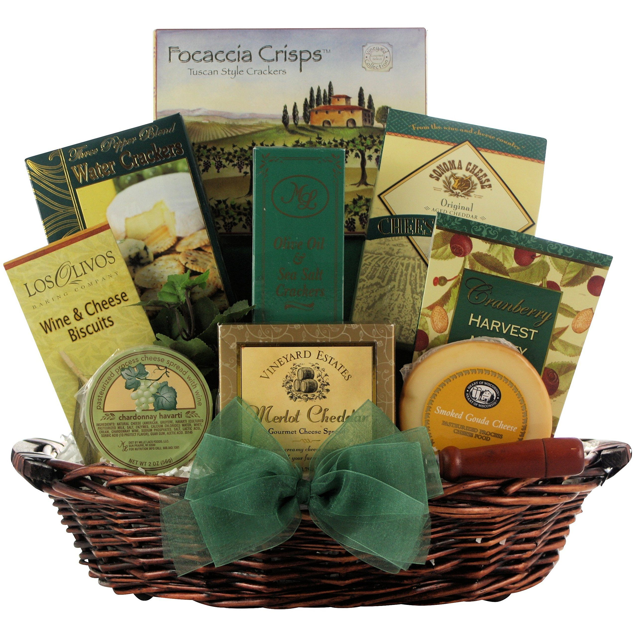 GreatArrivals Cheese Delights Gourmet Holiday & Christmas Gift ...