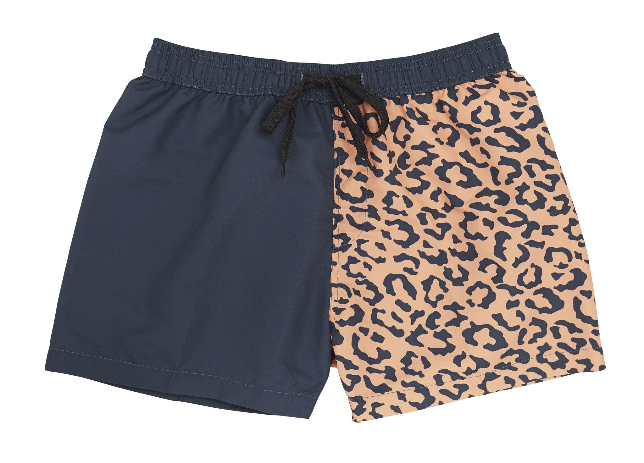 856ef6db62e Animal Print Swim Trunks for Men by Hot Thunder | Men's Style | Swim ...