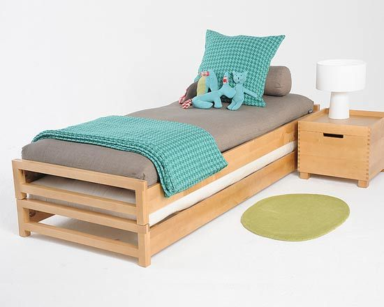 Stacking Single Bed Can Be Made Into Kingsize The Futon Company For Two Frames And Mattresses Extras Cover Each