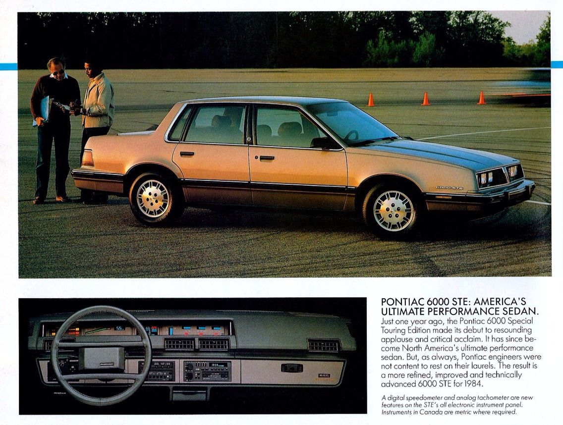 Luxury caravan with full size sports car garage from futuria - Pontiac 6000 Automobiles Digital Dashboards Of The 1980 S Pinterest Digital Dashboard And Cars