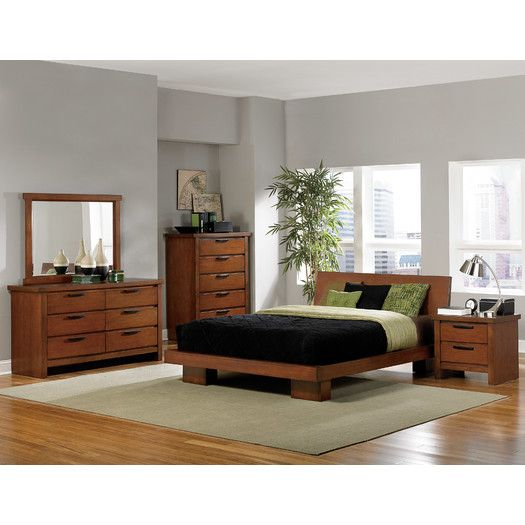 woodbridge home designs kobe platform bed allmodern - Woodbridge Home Designs Furniture