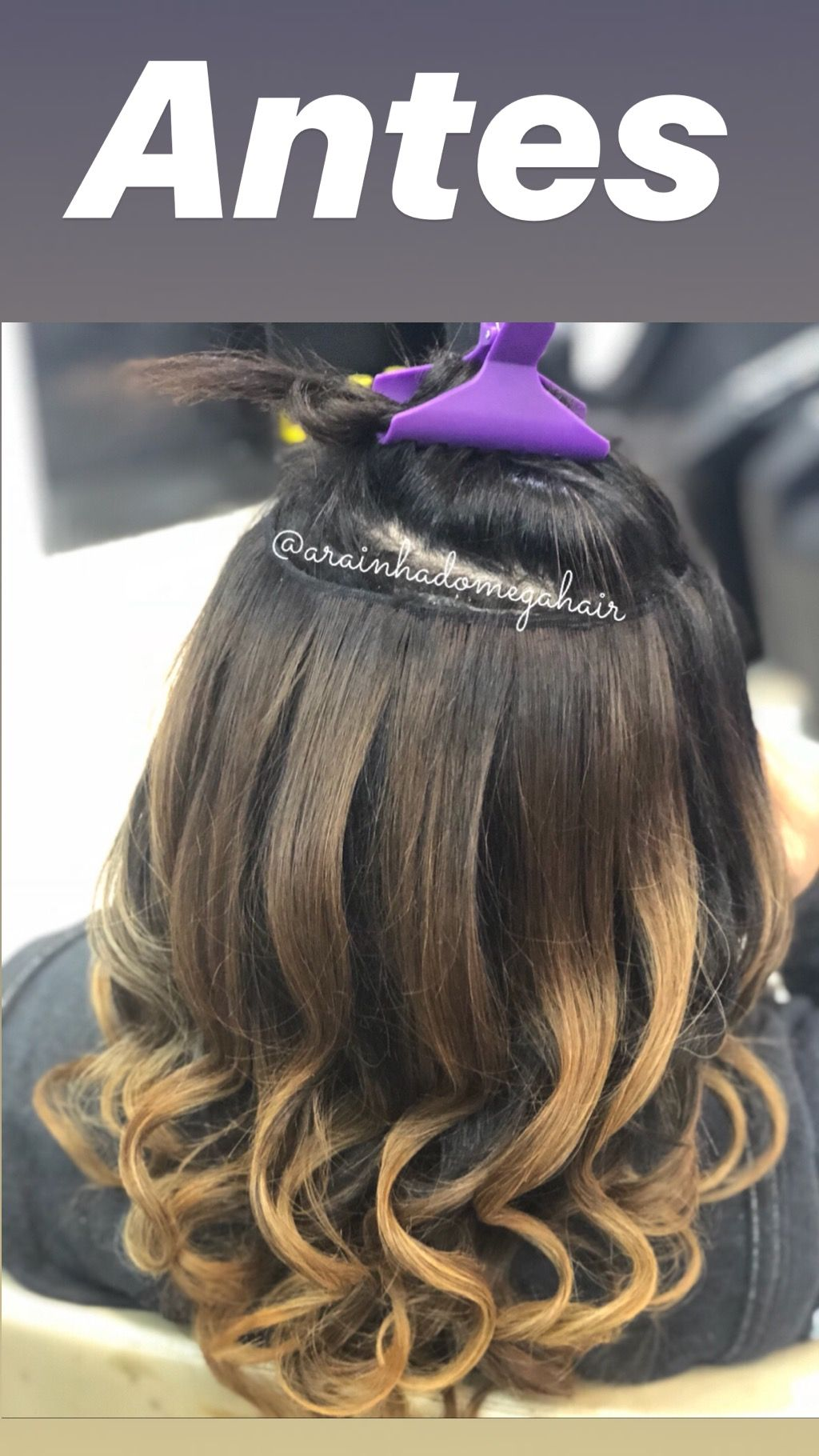 Técnica ponto arabesko cabelos naturais sistema remy