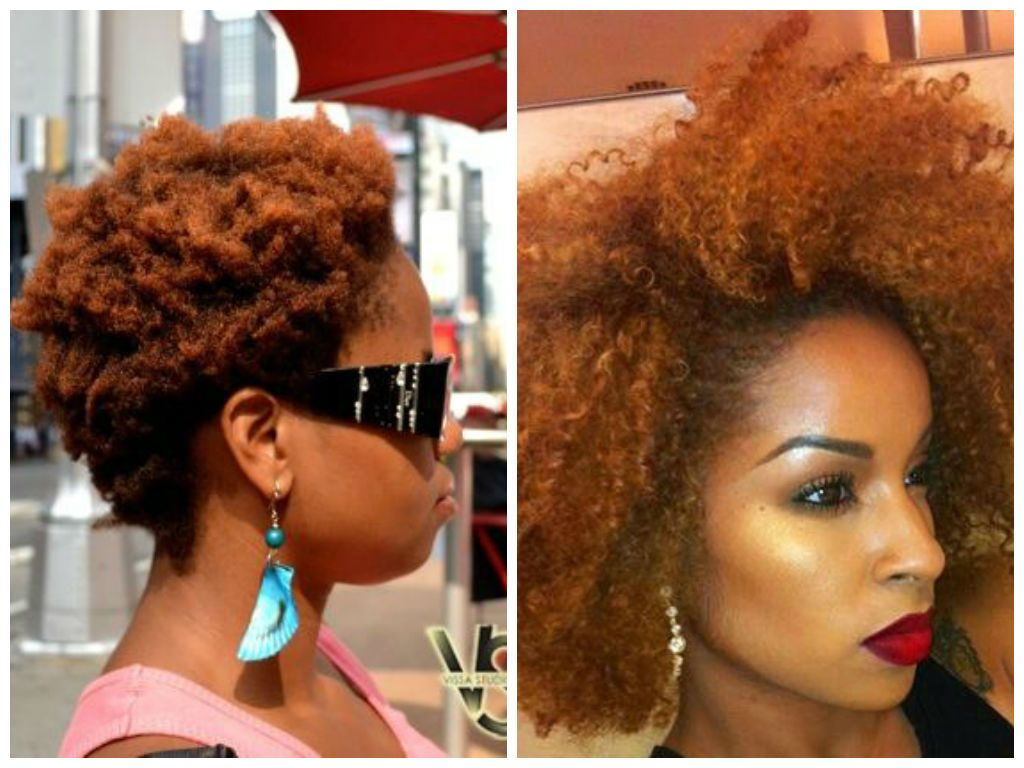 Dark Skin Women Can Pull Of Red Hair Effortlessly Because The