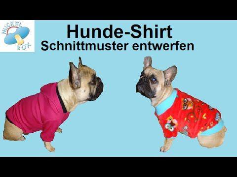 Nuckelbox: Ein eigenes Hunde-Shirt-Schnittmuster entwerfen | Hund ...
