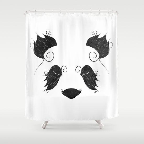 El Panda Shower Curtain Shower Curtain Shower Curtains