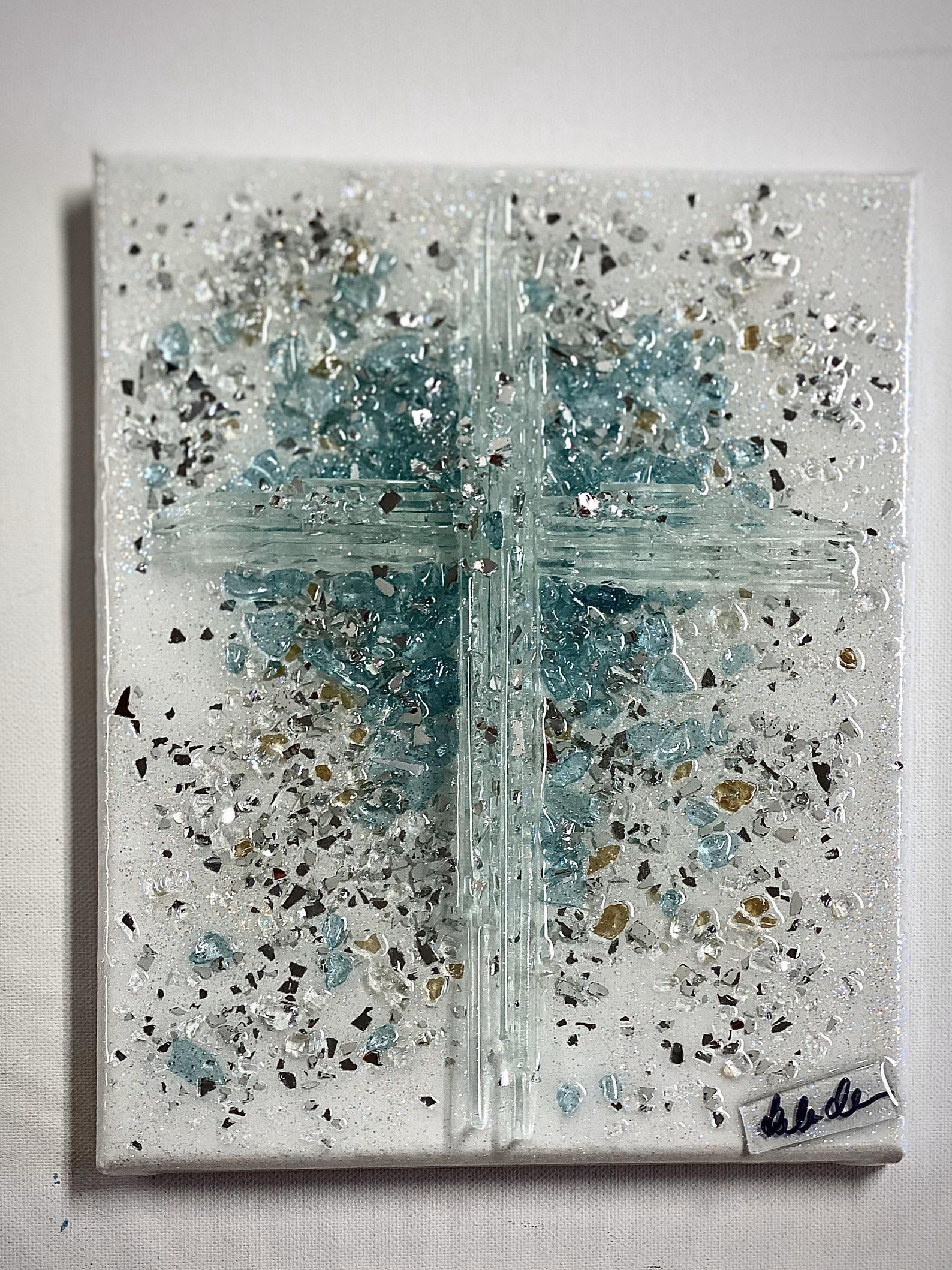 Broken glass art etsy in 2020 broken glass art art