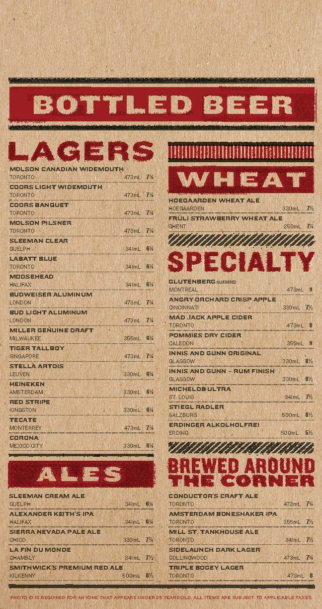 art of the menu: real sports bar & grill | business ideas and