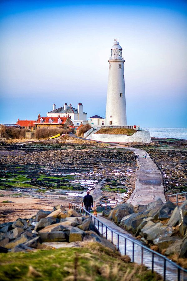 St. Mary's Lighthouse by Harrison Davies on 500px