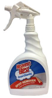 The Heaven S Best Spotter Solution Is Uniquely Formulated To Remove Most Non Permanent Spots And Stains Fro Best Cleaning Products Cleaning How To Clean Carpet