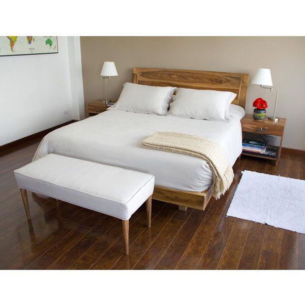Camas : Cama Carolina King by muebles&co | Habitaciones | Pinterest ...