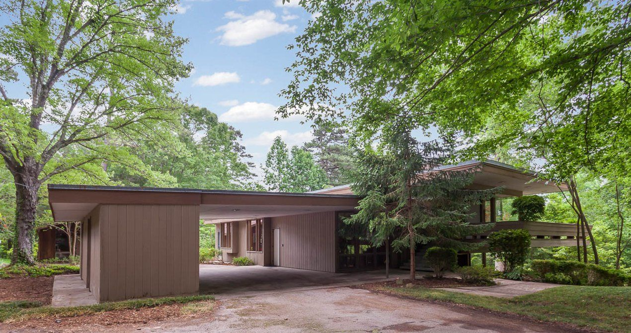 Modern Architecture North Carolina singer james taylor's childhood home in north carolina up for