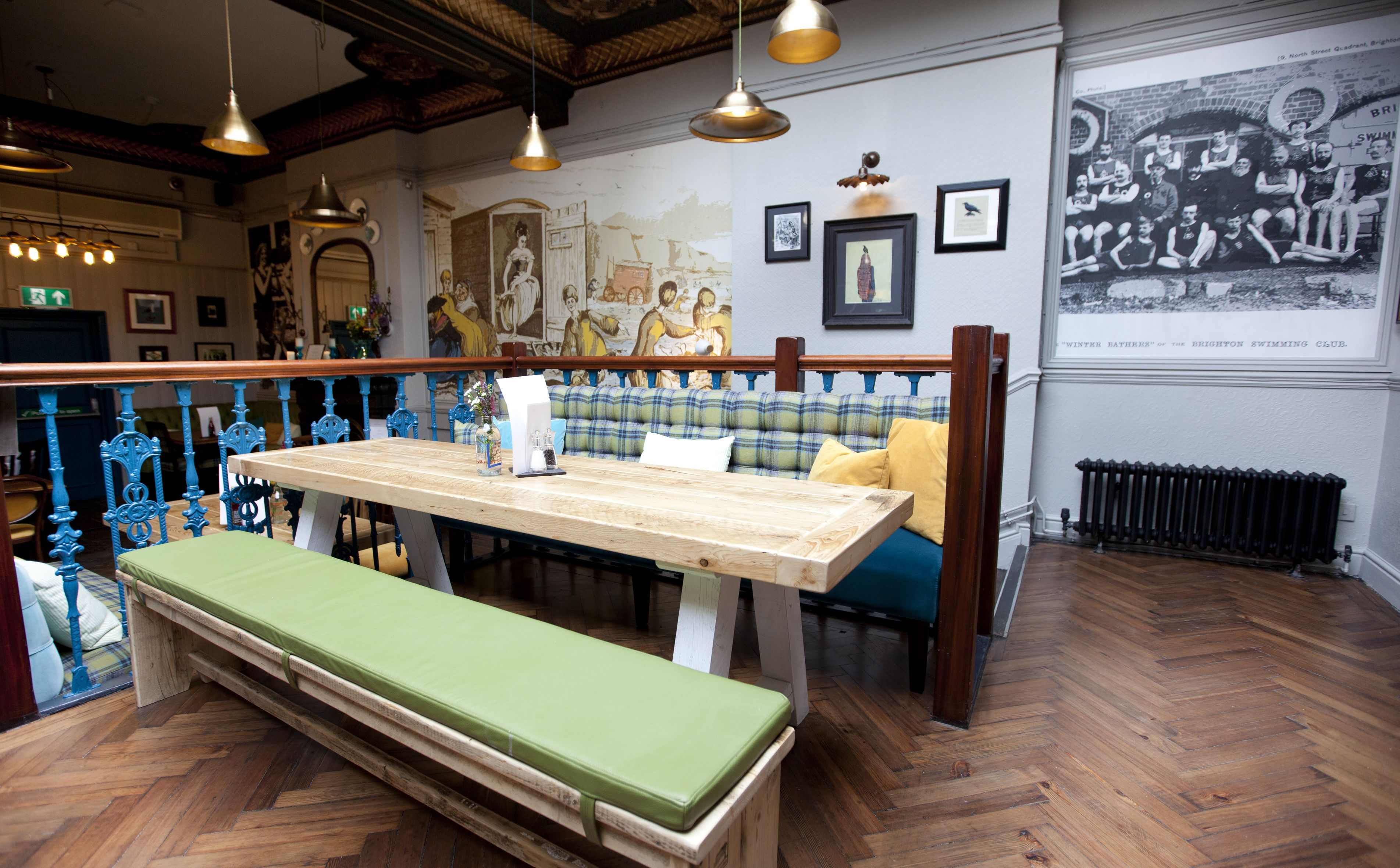 the seven stars – brighton | teal color schemes, pub interior and