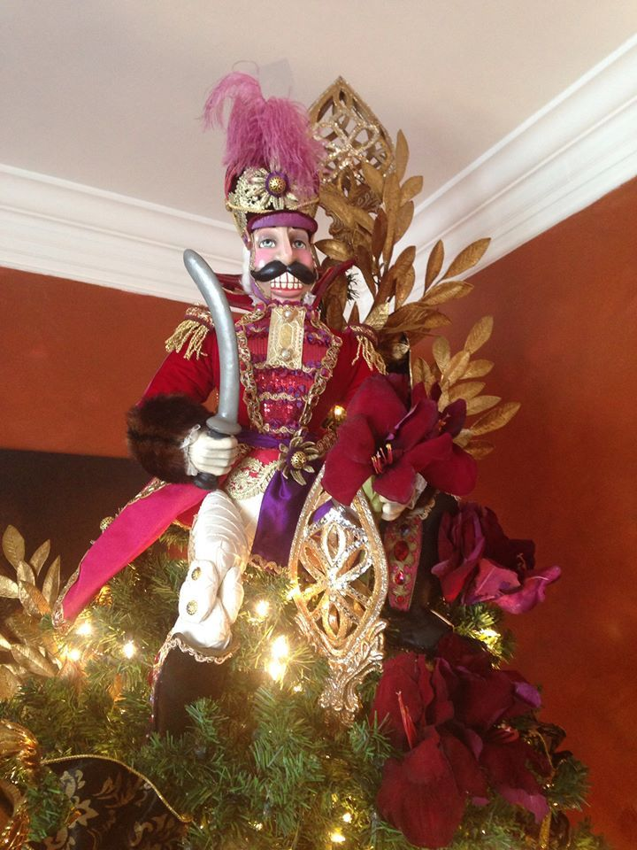 The Nutcracker Tree Topper Christmas Tree Toppers Nutcracker Christmas Tree Vintage Christmas Tree Toppers