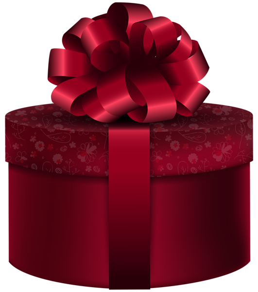 Red Round Gift Png Clip Art Image Wedding Gift Boxes Happy Valentines Day Images Gifts