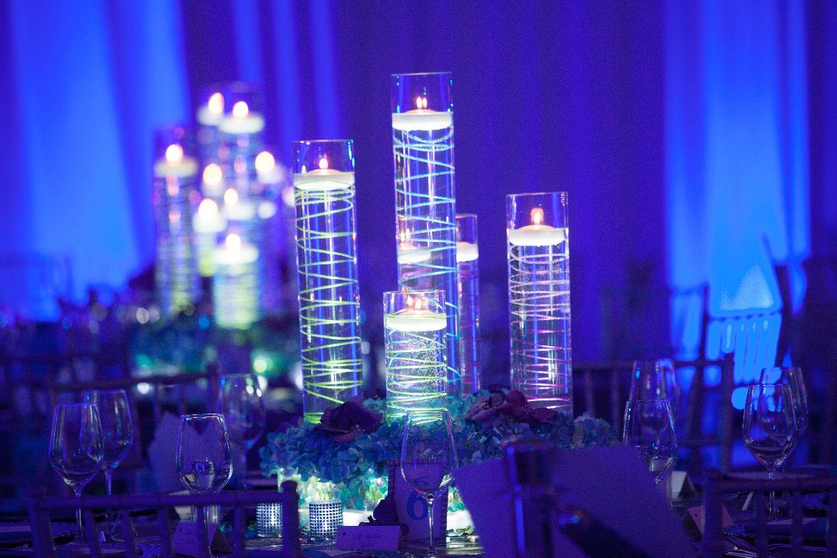 Candle Centerpieces Wedding Reception Ideas