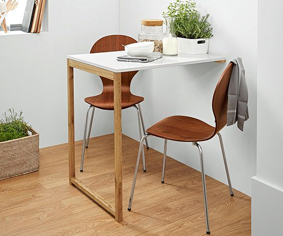 enge und kleine r ume einrichten mit modernem klapptisch in 2018 tiny home pinterest tisch. Black Bedroom Furniture Sets. Home Design Ideas