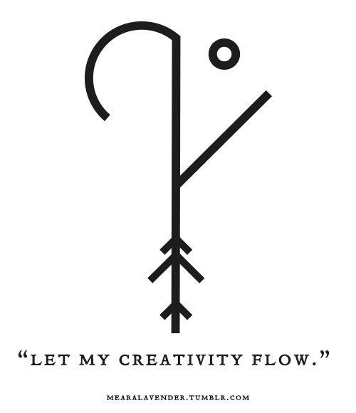 "Sigil Athenaeum — mearalavender: ""Let my creativity flow."" Sigil..."