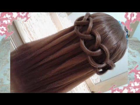 peinados sencillos faciles para cabello largo bonitos y rapidos con trenzas para nia mariposa30 - Peinados Sencillos Y Faciles