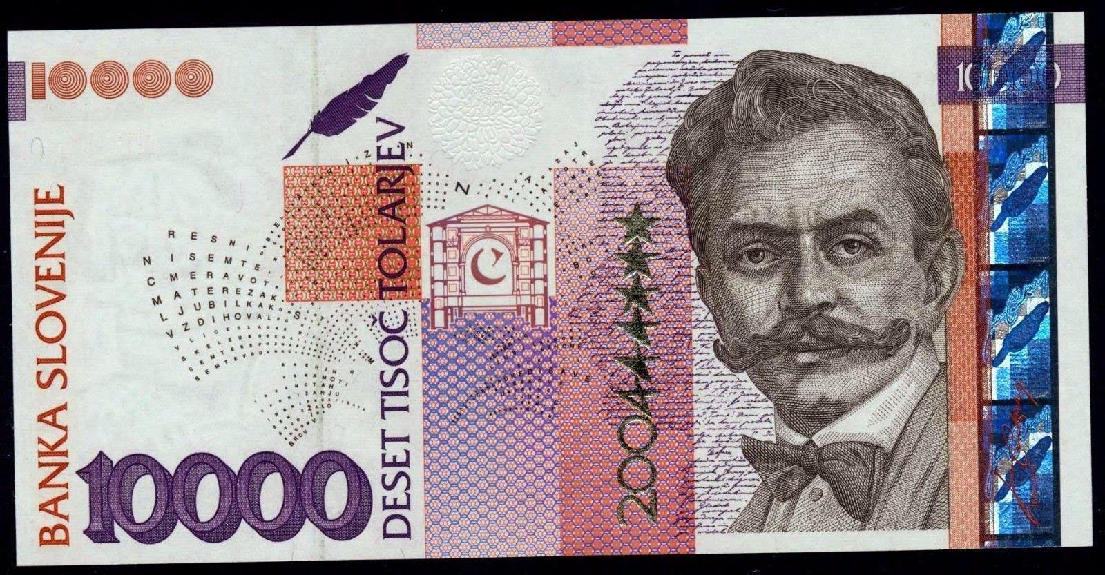 Slovenia 20 Tolarjev Paper Money 1992 UNC